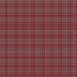 Tricoline Quadradinhos Vinho, 100% Algodão, 50cm x 1,50mt