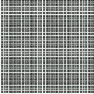 Tricoline Quadradinhos Chumbo, 100% Algodão, 50cm x 1,50mt