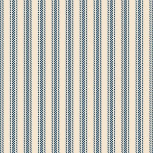 Tricoline Textura Listrada Azul Antigo, 100%Alg 50cm x 1,50m