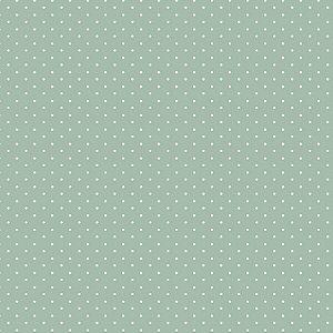 Tecido Tricoline Micro Poá Pistache, 100%Algod, 50cm x 1,50m