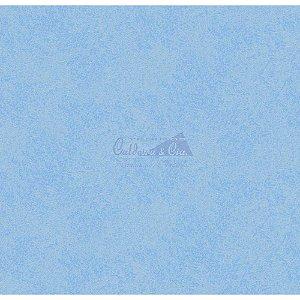 Tricoline Estampado Textura (Azul), 100% Algodão, Unid. 50cm x 1,50mt