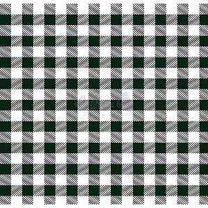 Tricoline Xadrez Smart (Preto) , 100% Algodão, Unid. 50cm x 1,50mt
