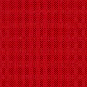 Tricoline Micro Poá Vermelho e Preto, 100%Alg, 50cm x 1,50mt