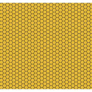 Tricoline Colmeia, 100% Algodão, Unid. 50cm x 1,50mt