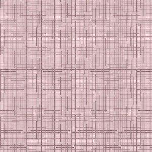 Tricoline Textura Rosa, 100% Algodão, Unid. 50cm x 1,50mt