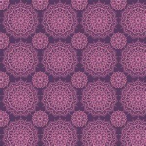 Tricoline Mandalas - 100% Algodão, Unid. 50cm x 1,50mt