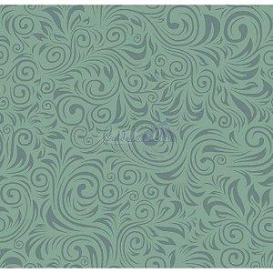 Tecido Arabesco Verona Cor - 01 (Verde), 100% Algodão, Unid. 50cm x 1,50mt