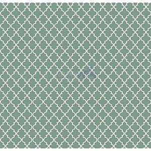 Tecido Delicato Cor - 01 (Verde), 100% Algodão, Unid. 50cm x 1,50mt