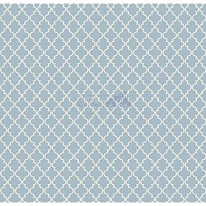 Tecido Delicato Cor - 02 (Azul Vintage), 100% Algodão, Unid. 50cm x 1,50mt