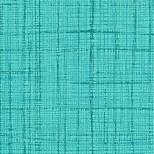 Tricoline  Neutro (Turquesa)- 100% Algodão, Unid. 50cm x 1,50mt