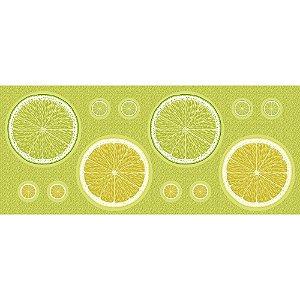 Tricoline Painel Sousplat Limões, 100% Algodão, Unid. 63cm x 1,50mt