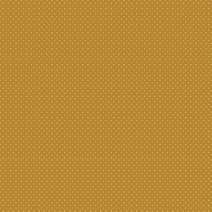 Tricoline Poá Mostarda, 100% Algodão, Unid. 50cm x 1,50mt