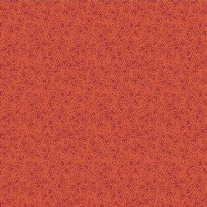 Tricoline Contornos Vermelho Claro, 100% Algodão, Unid. 50cm x 1,50mt