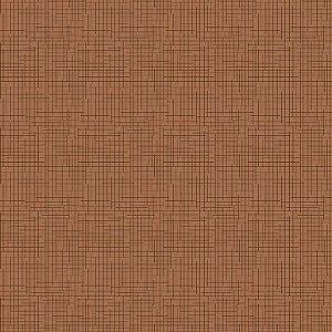 Tricoline Estampado Textura Terracota, 100% Algodão, Unid. 50cm x 1,50mt