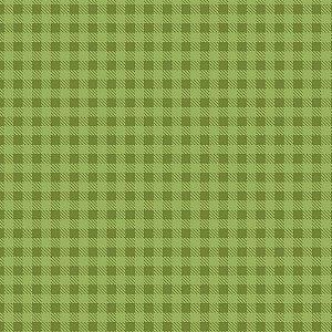 Tricoline Estampado Xadrez Grama, 100% Algodão, Unid. 50cm x 1,50mt