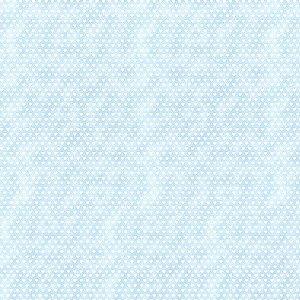 Tricoline Estampado Mini Corações Azul, 100% Algodão, Unid. 50cm x 1,50mt