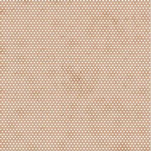 Tricoline Estampado Mini Corações Pessego, 100% Algodão, Unid. 50cm x 1,50mt