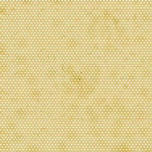 Tricoline Estampado Mini Corações Amarelo Queimado, 100% Algodão, Unid. 50cm x 1,50mt
