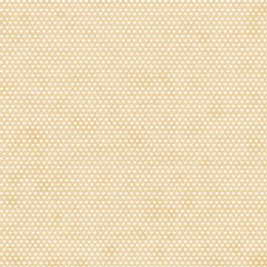Tricoline Estampado Mini Corações Creme, 100% Algodão, Unid. 50cm x 1,50mt