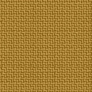 Tricoline Estampado Pied de Poule Mostarda, 100% Algodão, Unid. 50cm x 1,50mt