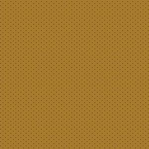 Tricoline Estampado Poá Tom Tom Mostarda, 100% Algodão, Unid. 50cm x 1,50mt