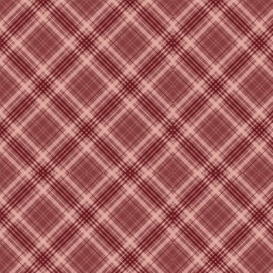 Tricoline Digital Red Plaid, 100% Algodão, Unid. 50cm x 1,50mt