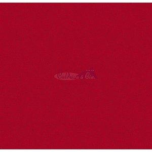 Tecido Tricoline Crackelad (Vermelho), 100% Algodão, Unid. 50cm x 1,50mt