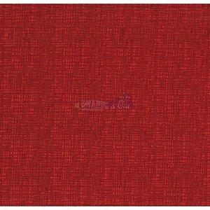 Tricoline Textura Efeito (Vermelho), 100% Algodão, Unid. 50cm x 1,50mt