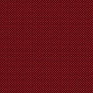 Tricoline Estampado Poá Vinho, 100% Algodão, Unid. 50cm x 1,50mt
