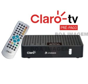 Receptor Digital SD Claro Tv Pré-pago Mercantil