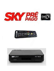 Receptor Digital Sky Pré-Pago Fléx HD