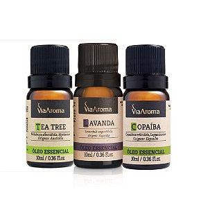 Tea tree + Lavanda + Copaiba