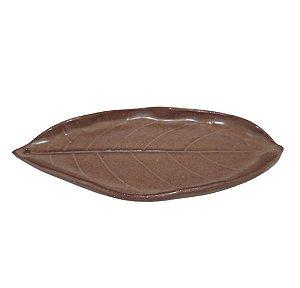 Incensário Folha - Chocolate