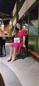 Vestido Nobres Rosa