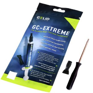Pasta Térmica Gelid GC-Extreme 3.5g + Chave Torx T8 Com Furo