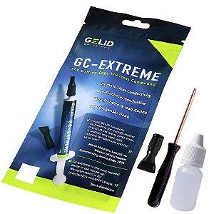 Pasta Térmica Gelid GC-Extreme 3.5g + Cleaner 10ml + Torx T8