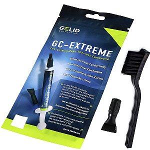 Pasta Térmica Gelid GC-Extreme 3.5g + Escova Anti Estática