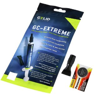 Pasta Térmica Gelid GC-Extreme 3.5g + Cr2032 Para Placa Mãe