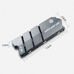 Dissipador de Calor JEYI para SSD M2 Nvme 2280 Flyfish