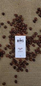 Mini Barra De Chocolate Com Café Especial Ao Leite