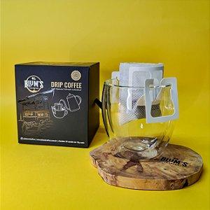 Caixa com 10 un.  Drip Coffee 10g cada - Café Especial Descafeinado