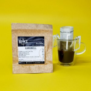Drip Coffee Individual - Café Especial - Karamell 10g