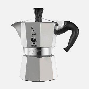 Cafeteira Bialetti Italiana - Moka 3 Cup - Inox