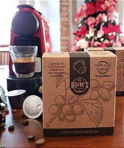 Cápsula de Café Karamell compatível com máquina Nespresso -  3 caixas com 10 unidades cada