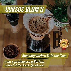 Curso - Aperfeiçoando o café em casa