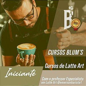 Curso - Latte Art para iniciantes com Emerson Barista
