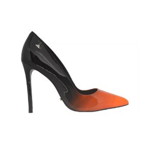Sapato Feminino Scarpin SHEPZ Verniz Bicolor