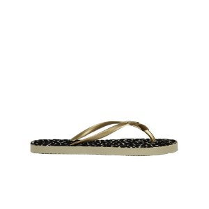 Chinelo Feminino Flat SHEPZ Estampa Animal Print