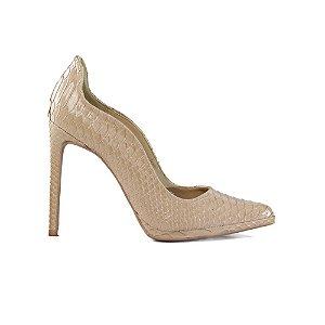 Sapato Feminino Scarpin SHEPZ Salto Alto Nude