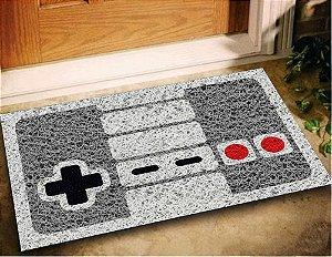 Tapete Capacho Controle Nintendo 60x40 Game Casa Entrada Lar